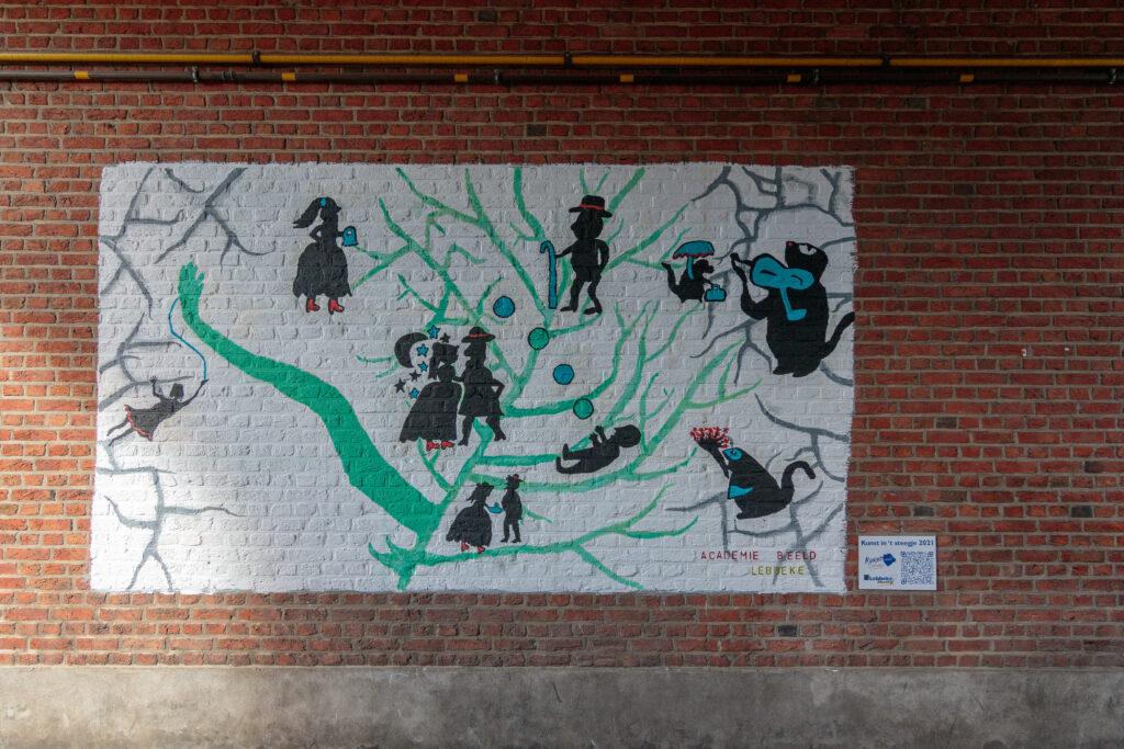 streetart academie Lebbeke