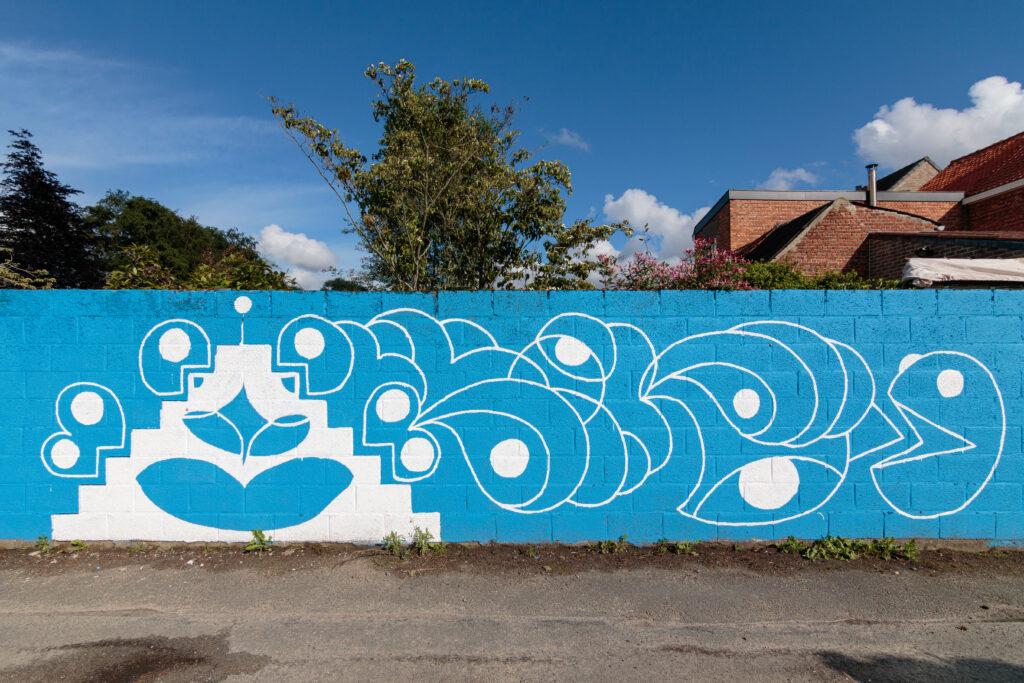 Sam De Grote streetart