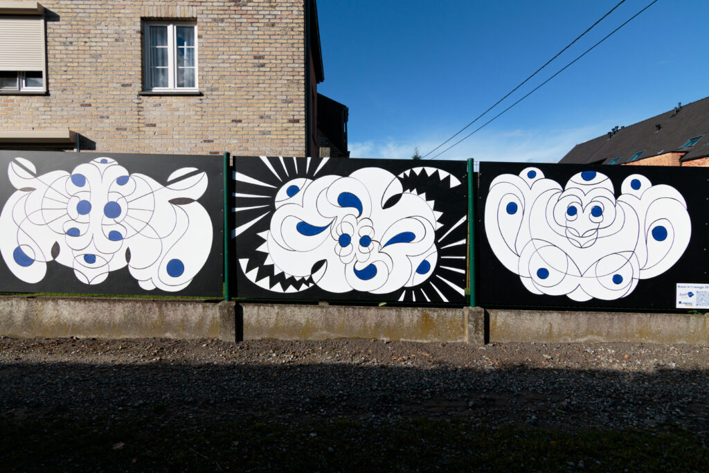 Streetart kunstenaar Sam De Grote