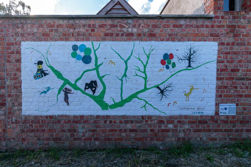 streetart academie Lebbek
